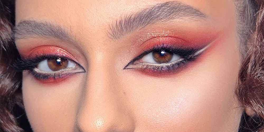 سایه پررنگ برای چشمهایی با پلک افتاده