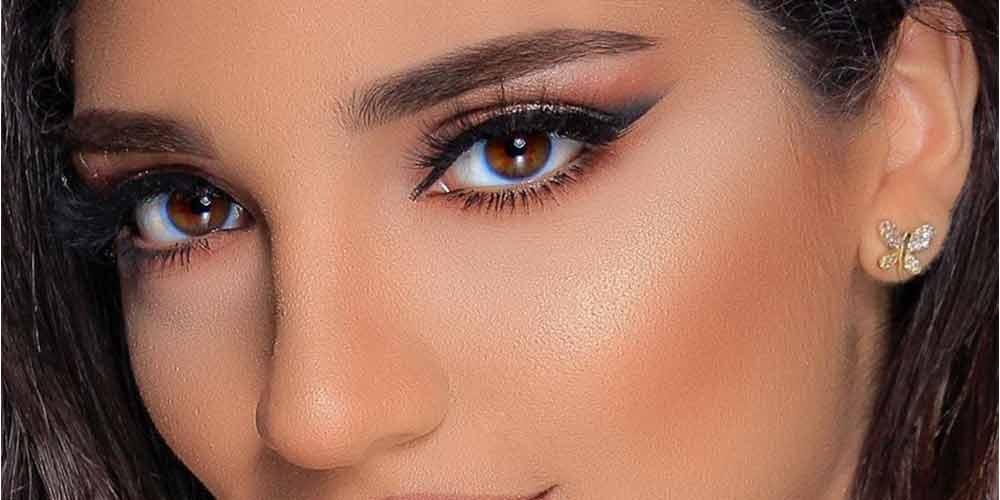 سایه چشم و خط چشم