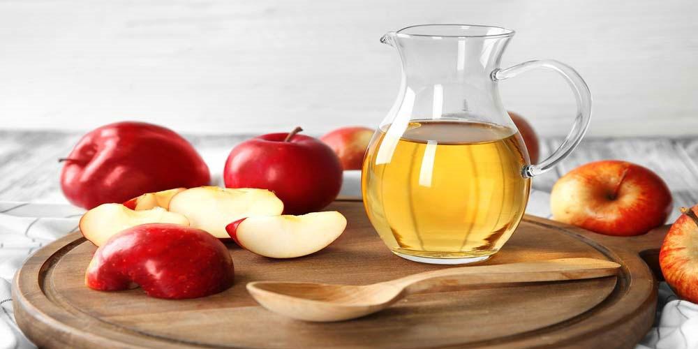 ماسک خانگی با استفاده از سرکه و سیب