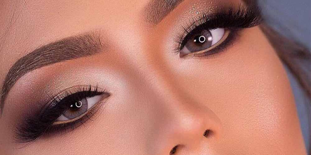 سایه مناسب چشم نزدیک به هم