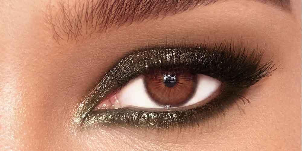 ترکیب سایه چشم اسموکی و شاین