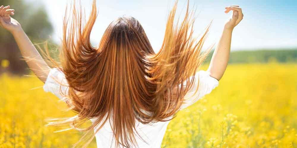 موهای شلاقی و صاف
