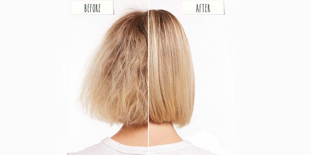 تفاوت قبل و بعد کراتین کردن موی کوتاه