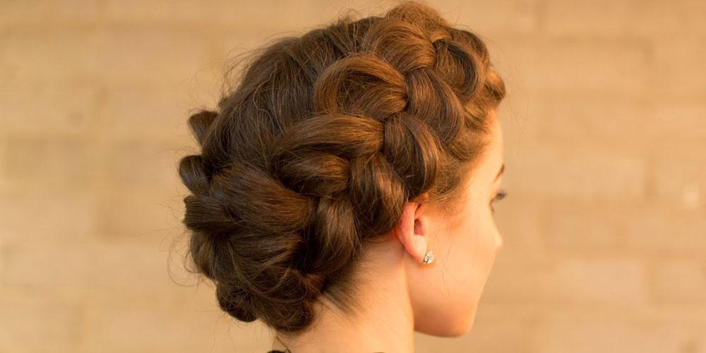 آموزش بافت مو از جلوی سر
