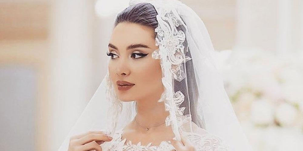 ایده مدل مو عروس با تور