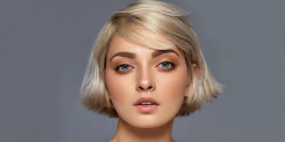 مدل مو بلند برای صورت گرد