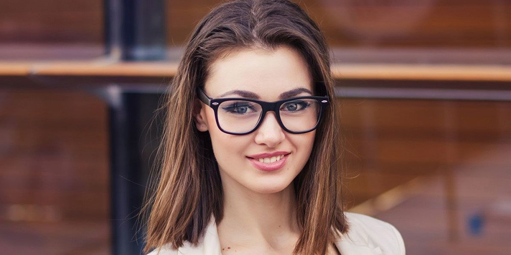 مدل مو بلند دخترانه برای صورت گرد
