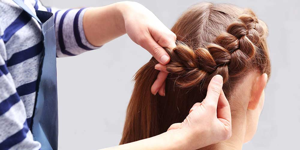 آموزش بافت مو فرانسوی ساده