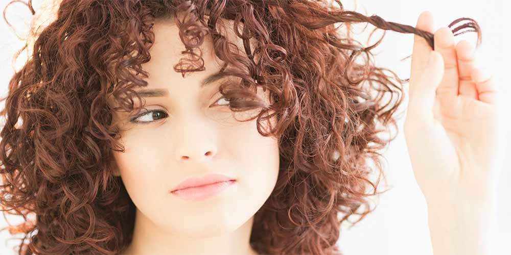 چگونه موهای خود را فر کنیم دخترانه