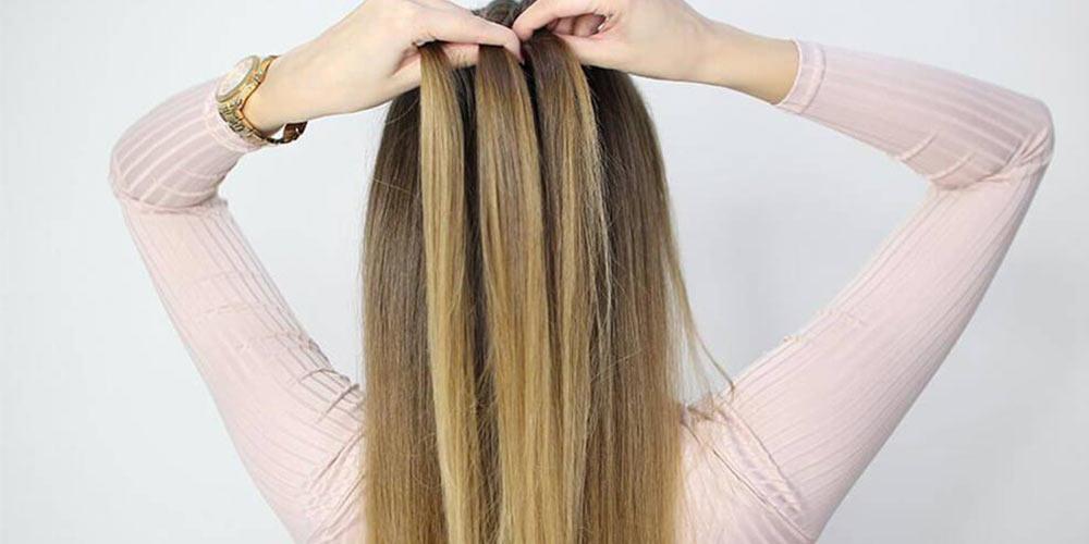 راهنمای بافت مو دخترانه هلندی ساده