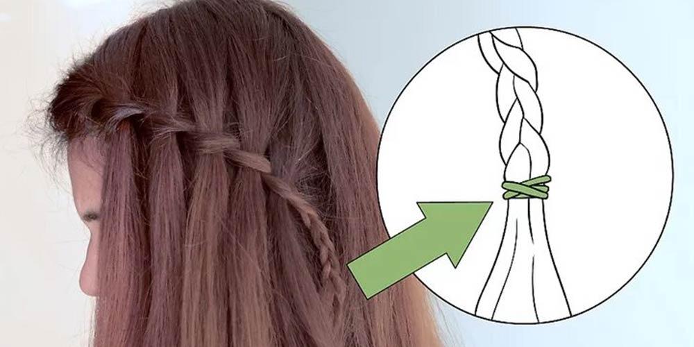 مراحل بافت مو آبشاری