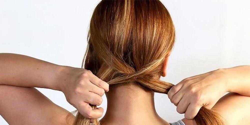 بافت مو تیغ ماهی کف سر