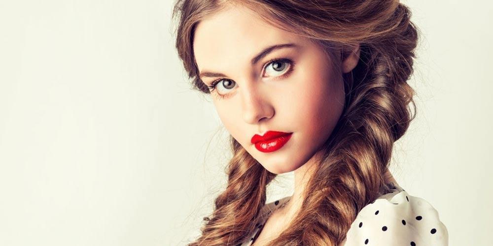 مدل بافت مو دخترانه ساده