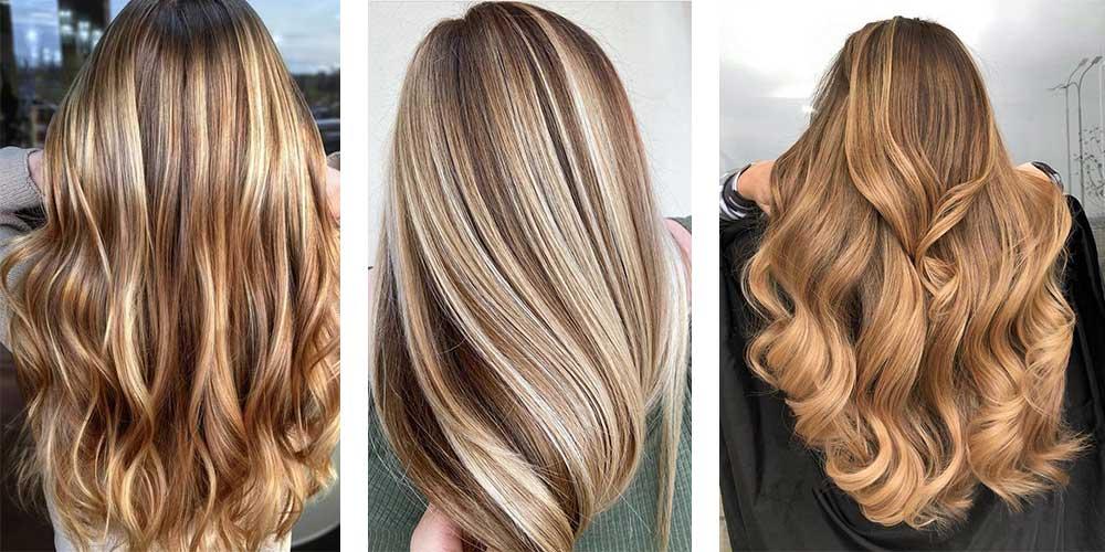 انواع مختلف هایلایت موی شیک و زیبا