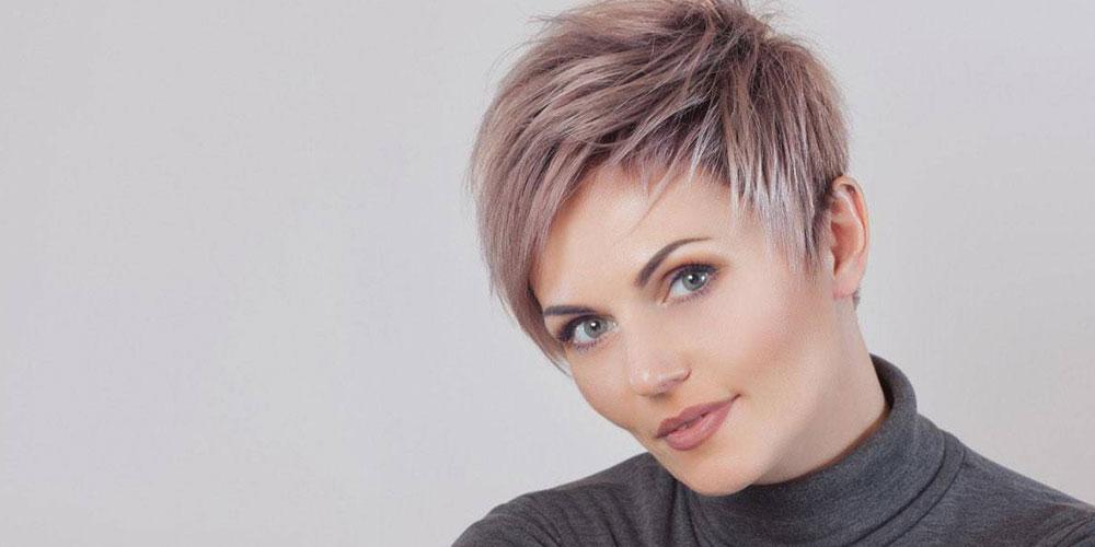 مدل هایلایت موی کوتاه
