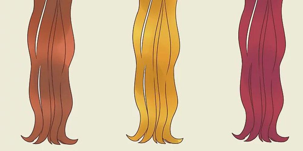 هايلايت كردن مو با شانه