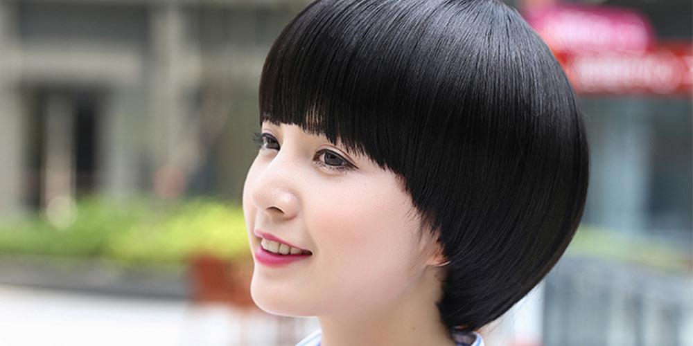کوتاهی مو مدل قارچی دخترانه