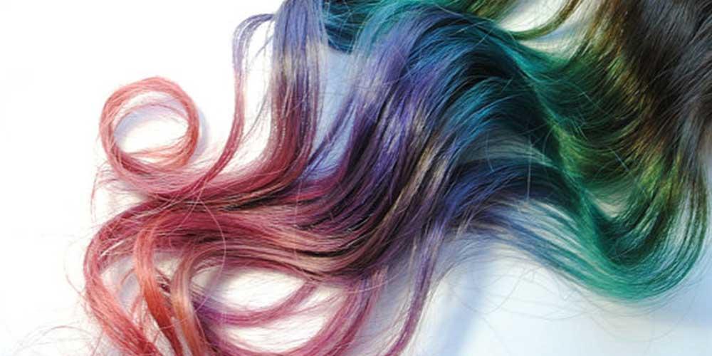 پاك كردن رنگ مو از روي مو