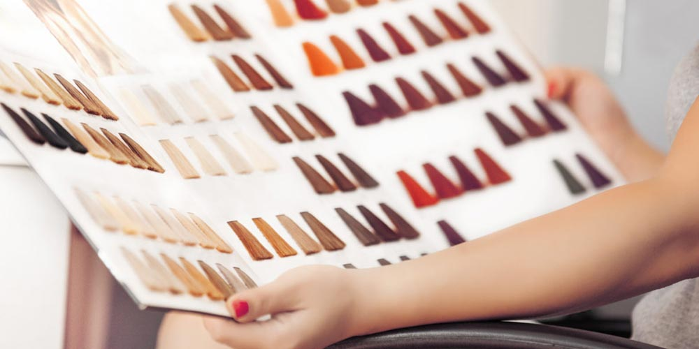 انتخاب رنگ موی مناسب با پوست