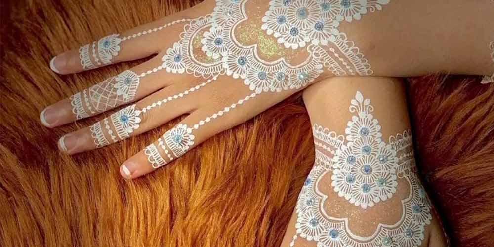 مدل طرح حنا عروس