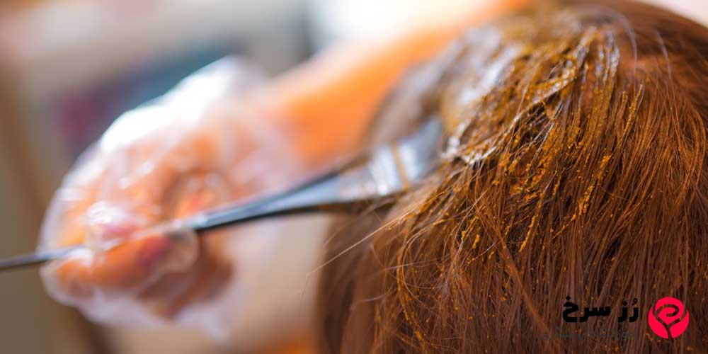 رنگ موهای طبیعی در بارداری