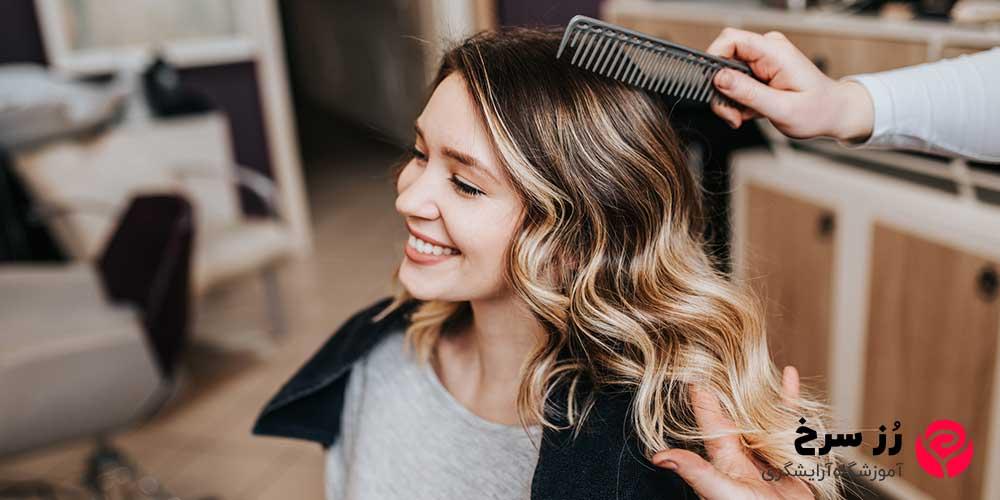 رنگ کردن مو در دوران شیردهی
