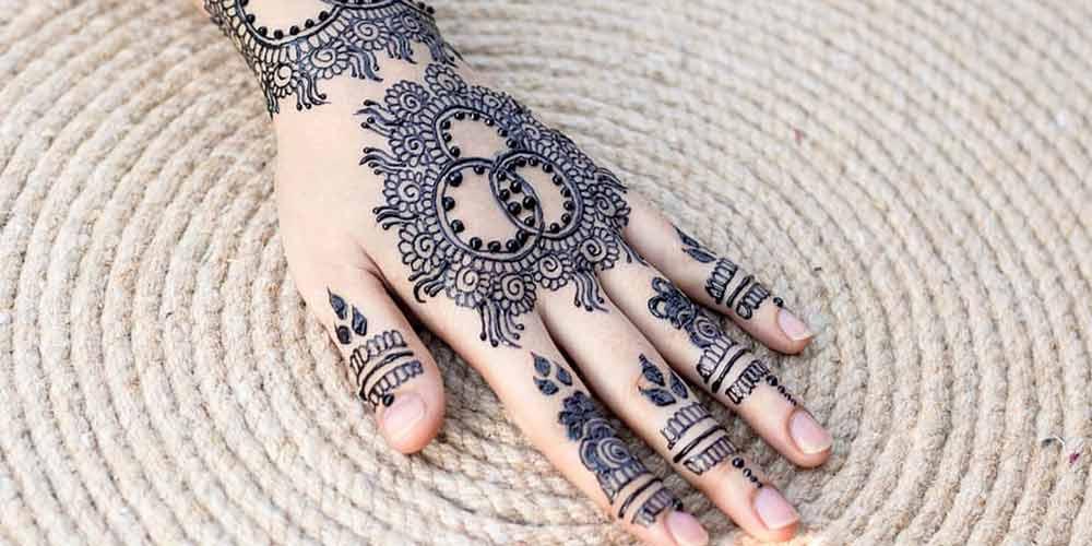 طرح حنا برای عروسی