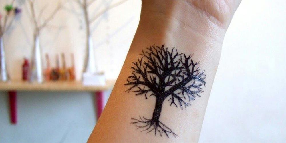طرح تاتو درخت زندگی