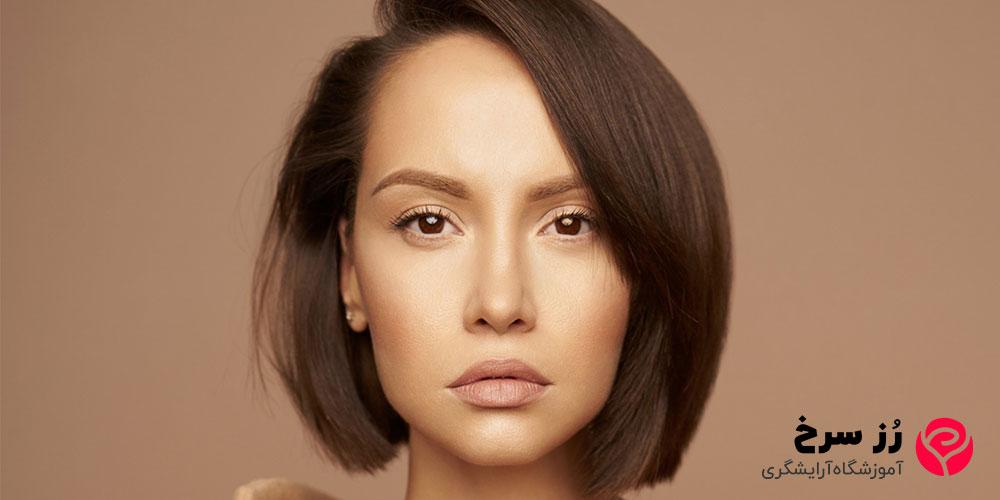 جدیدترین مدل مو کوتاه برای صورت کشیده