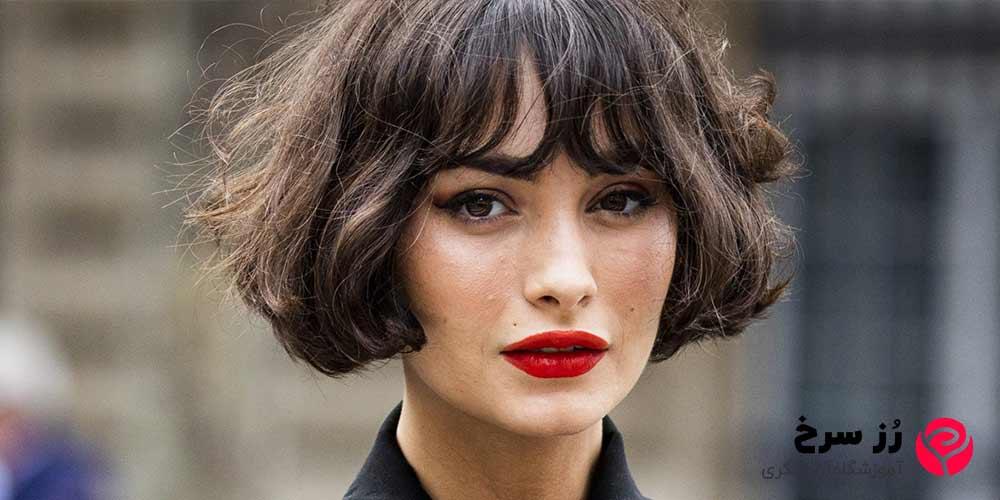 مدل مو مناسب صورت مستطیلی
