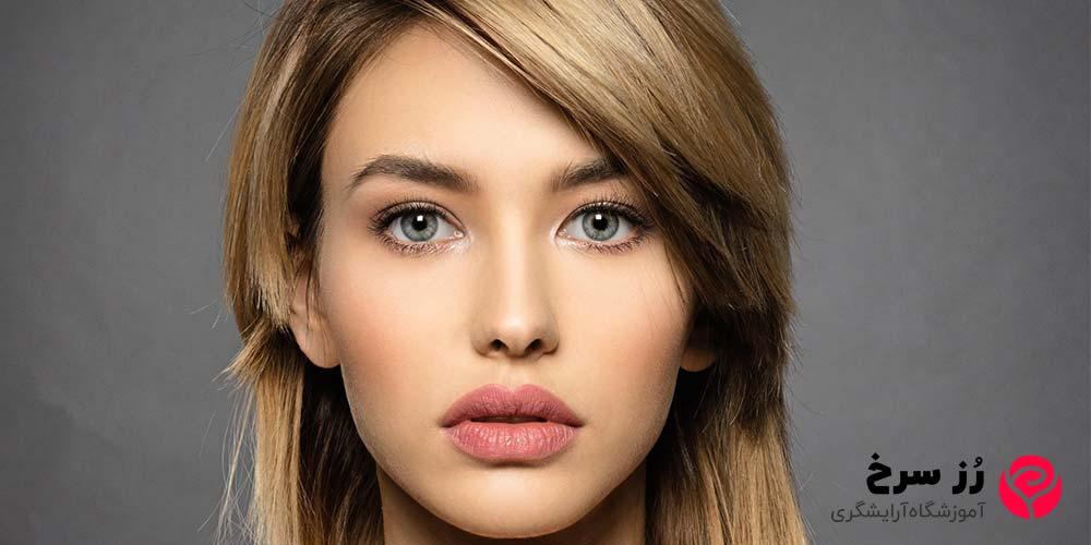 مدل موی کوتاه زنانه برای صورت بیضی