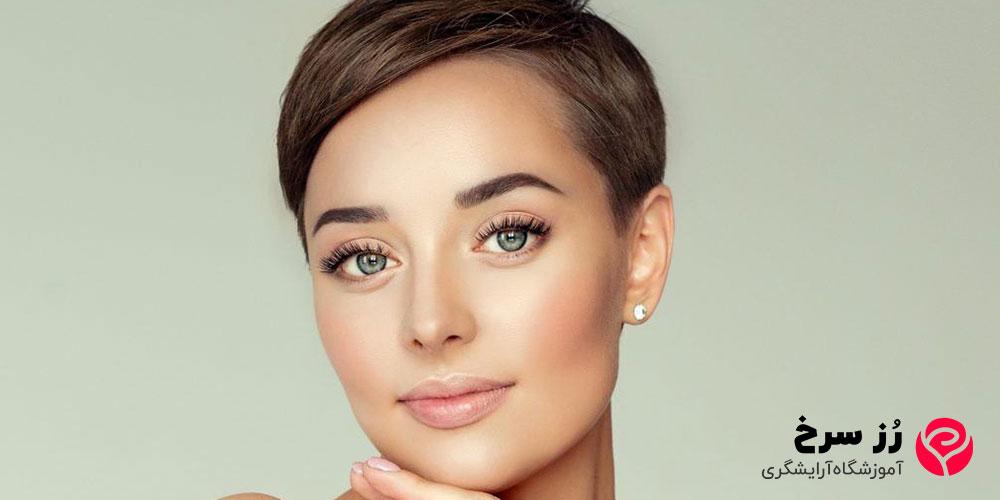 مدل مو کوتاه برای صورت مستطیلی