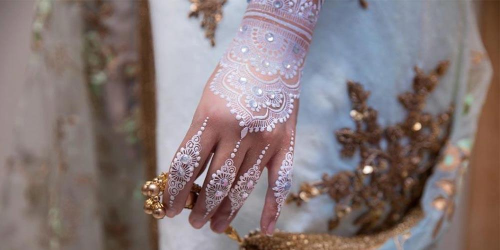 طراحی حنا عروسی
