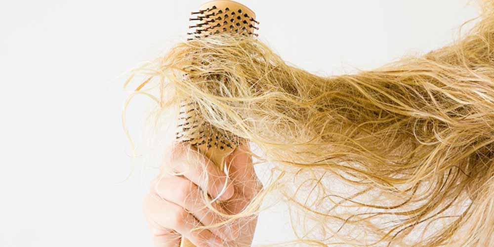 نازک شدن مو در اثر کمبود پروتئین