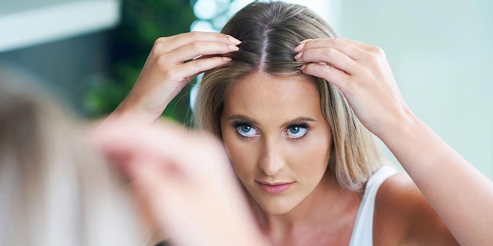 ریشه گیری موهای بلوند