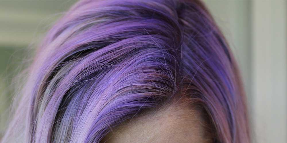 رنگ ریشه برای موهای فانتزی