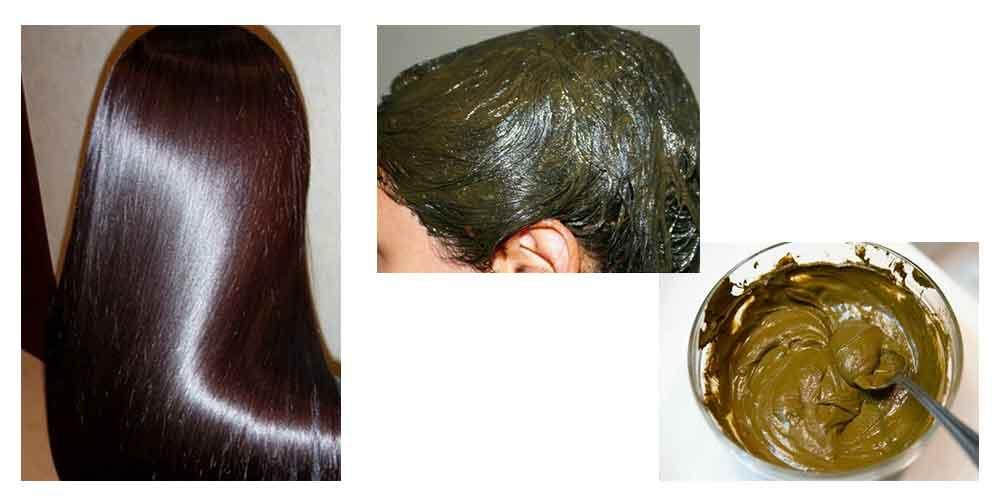 رنگ مو با استفاده از گیاه حنا