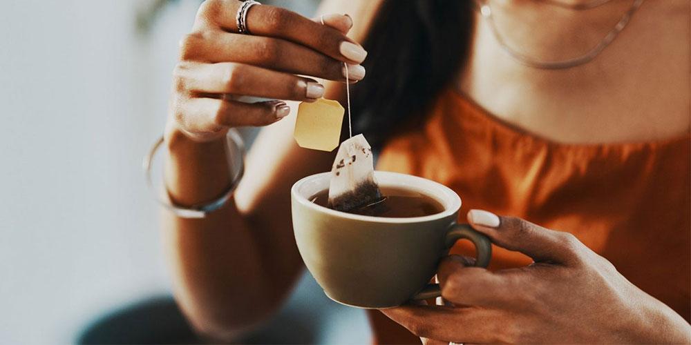 رنگ مو گیاهی با چای