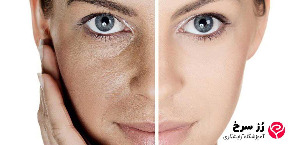 کار پرایمر در روشن کنندگی پوست