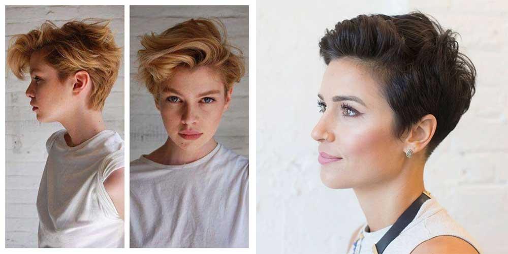 مدل مو خامهای بلند پسرانه برای دختر