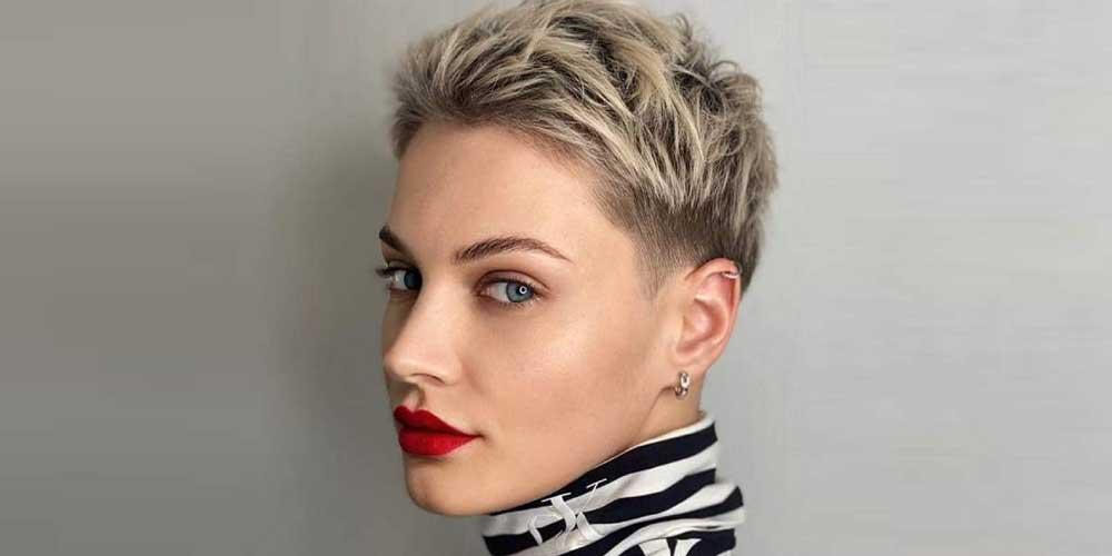 مدل مو پیکسی مردانه برای دختر