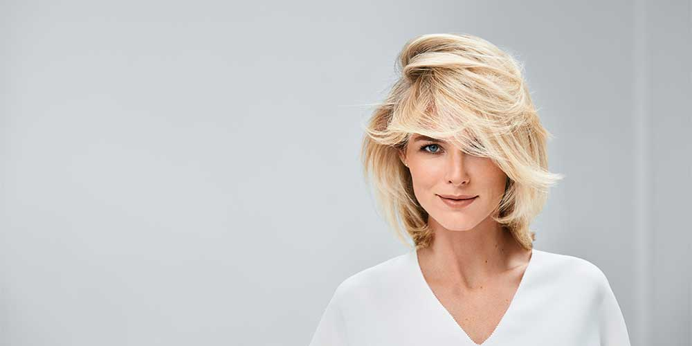 مدل مو کوتاه دخترانه بلوند