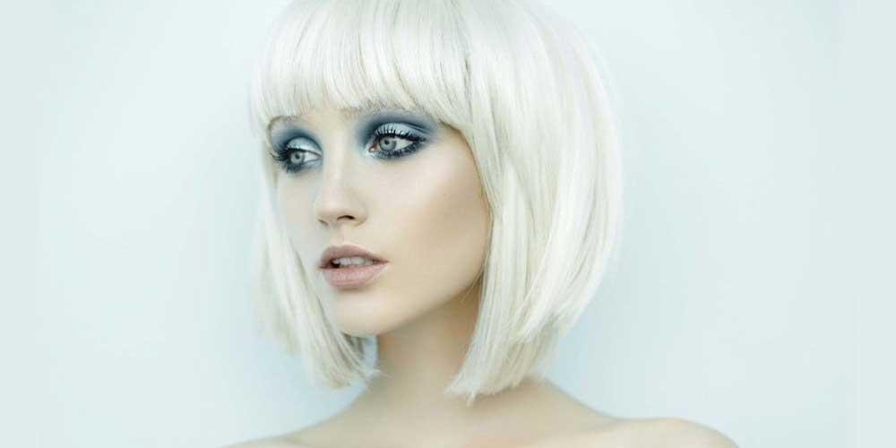 مدل کوتاه برای موهای بلوند سفید