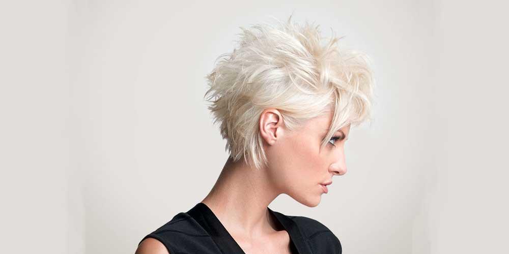 موهای کوتاه خفن بلوند