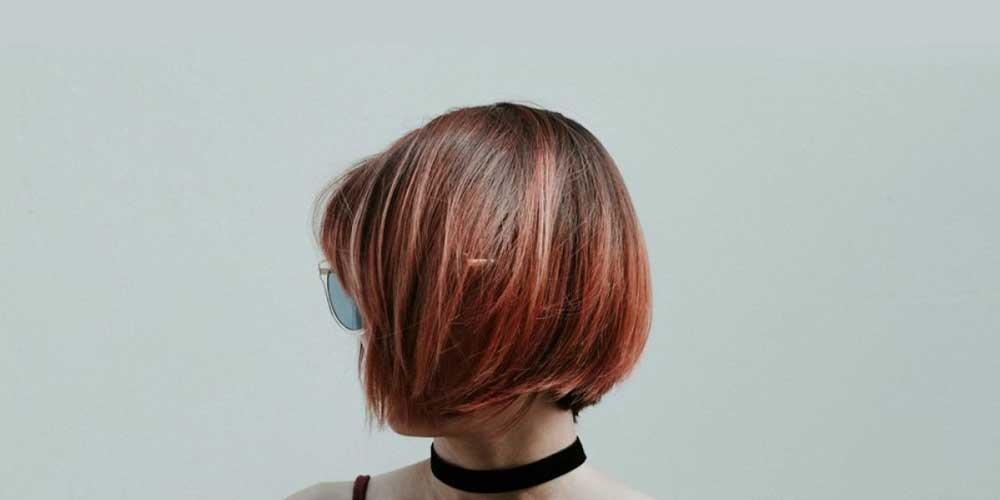 مدل مو کوتاه دخترانه برای موهای لخت