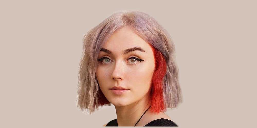 موی کوتاه دخترانه روشن