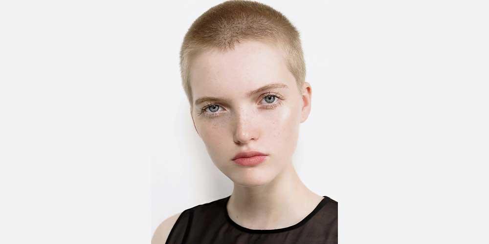 مدل مو تراشیده