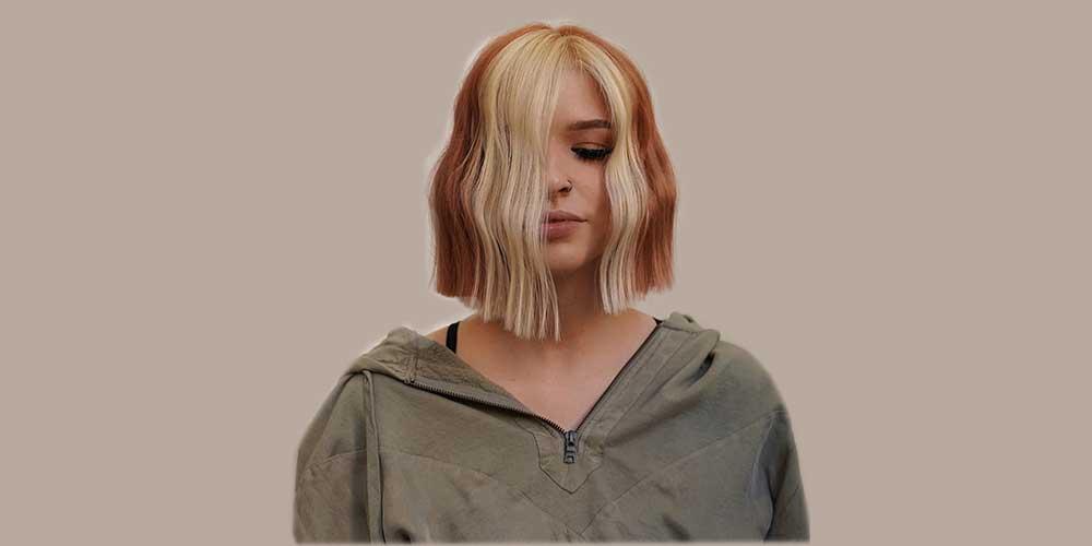 موی کوتاه برای موهای دورنگ