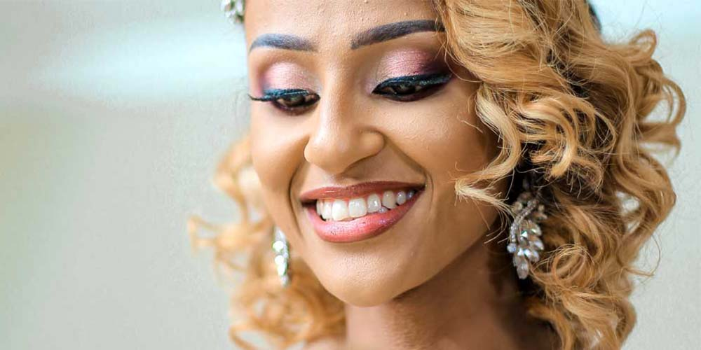مدل میکاپ عروس برای پوست سبزه