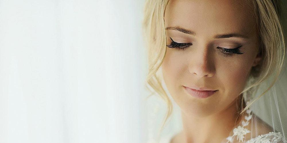 جدیدترین مدل آرایش عروس با موی بلوند